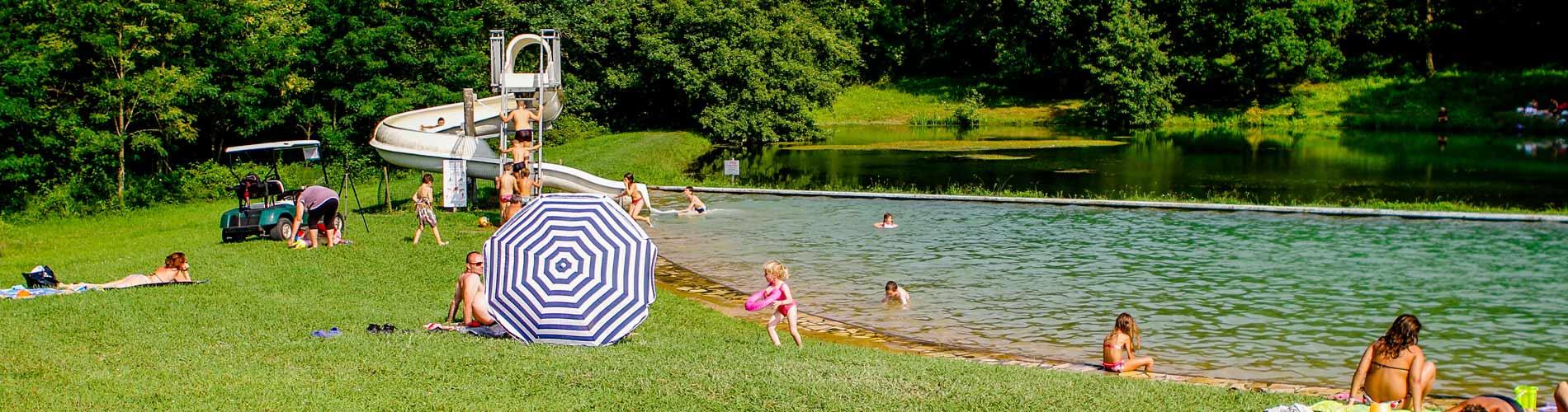 Lac du der camping avec piscine camping jura 4 toiles for Camping les vosges avec piscine