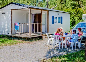Location mobil-home camping Pays Basque